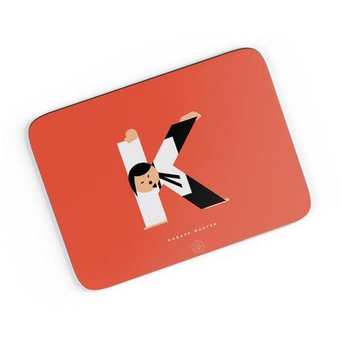 Alphabet People - Karate Master A4 Mousepad Online India