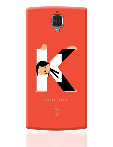 Alphabet People - Karate Master OnePlus 3 Cover Online India