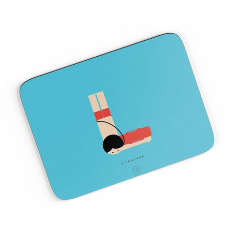 Alphabet People - Lifeguard A4 Mousepad Online India
