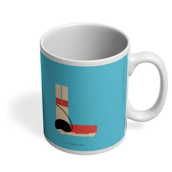 Alphabet People - Lifeguard Coffee Mug Online India