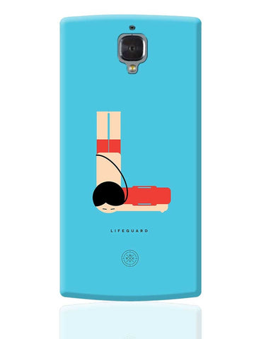 Alphabet People - Lifeguard OnePlus 3 Cover Online India