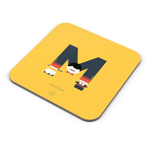 Alphabet People - Magician Coaster Online India
