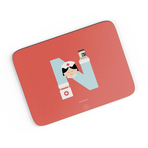 Alphabet People - Nurse A4 Mousepad Online India