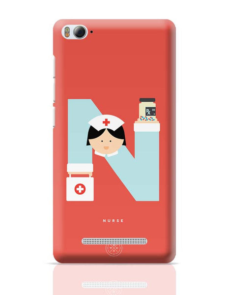 Alphabet People - Nurse Xiaomi Mi 4i Covers Cases Online India