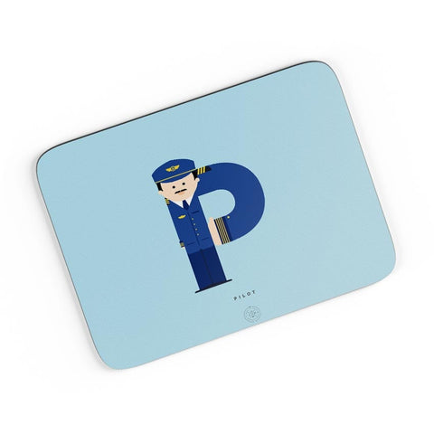 Alphabet People - Pilot A4 Mousepad Online India