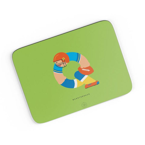 Alphabet People - Quarterback A4 Mousepad Online India
