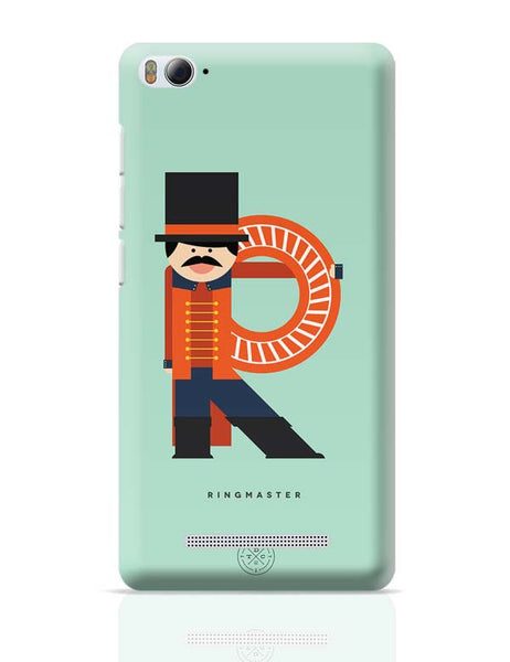 Alphabet People - Ringmaster Xiaomi Mi 4i Covers Cases Online India