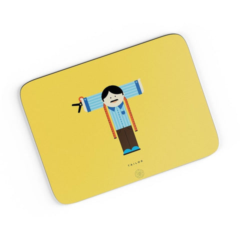 Alphabet People - Tailor A4 Mousepad Online India