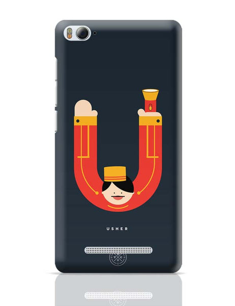 Alphabet People - Usher Xiaomi Mi 4i Covers Cases Online India