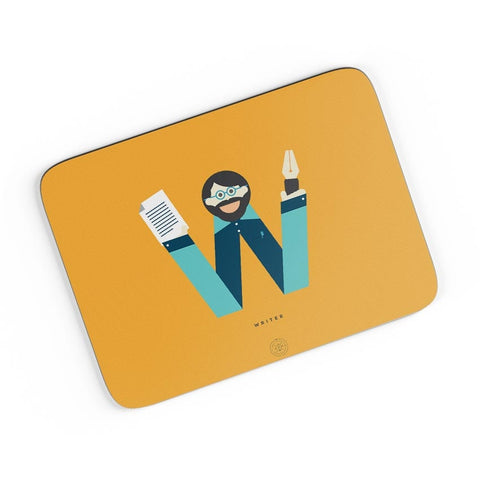 Alphabet People - Writer A4 Mousepad Online India