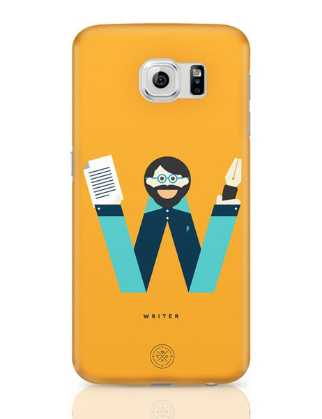 Alphabet People - Writer Samsung Galaxy S6 Covers Cases Online India