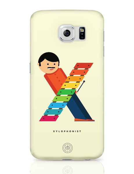 Alphabet People - Xylophonist Samsung Galaxy S6 Covers Cases Online India