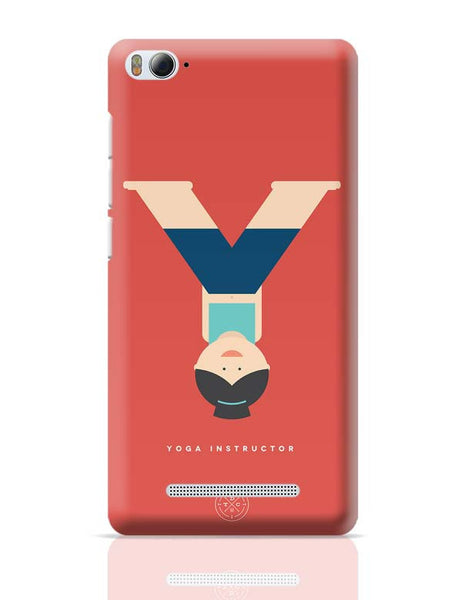 Alphabet People - Yoga Instructor Xiaomi Mi 4i Covers Cases Online India
