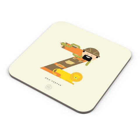 Alphabet People - Zoo Keeper Coaster Online India