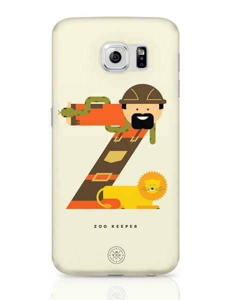 Alphabet People - Zoo Keeper Samsung Galaxy S6 Covers Cases Online India