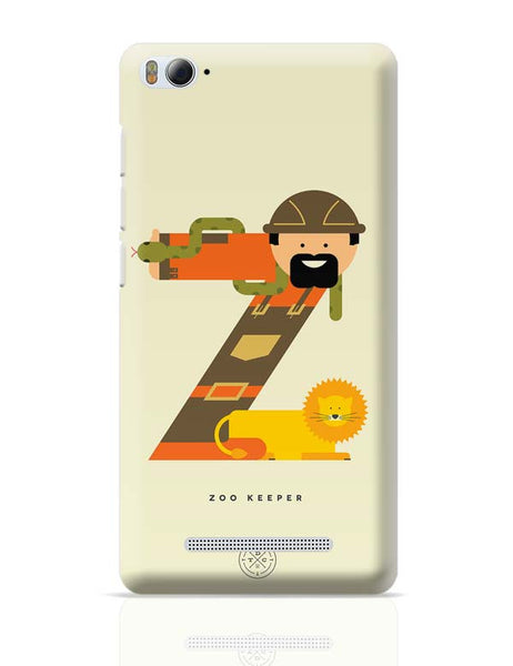Alphabet People - Zoo Keeper Xiaomi Mi 4i Covers Cases Online India