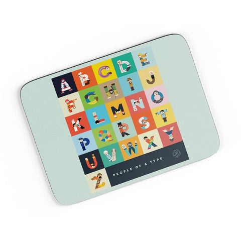People Of A Type A4 Mousepad Online India