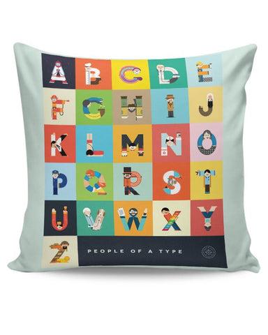 People Of A Type Cushion Cover Online India