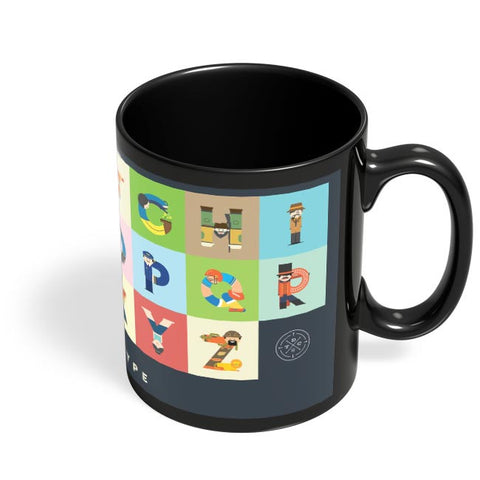 People Of A Type Black Coffee Mug Online India