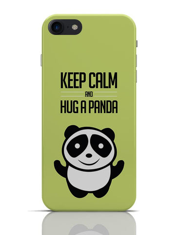 Hug A Panda - Green iPhone 7 Covers Cases Online India