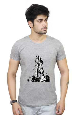 Buy Man With Gun T-Shirts Online India | Man With Gun T-Shirt | PosterGuy.in