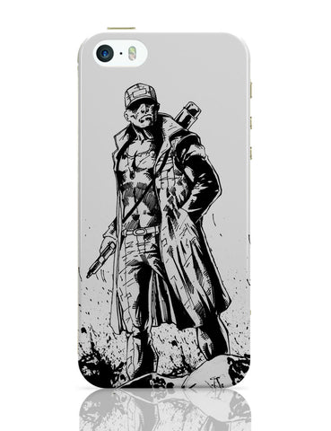 iPhone 5 / 5S Cases & Covers | Man With Gun iPhone 5 / 5S Case Online India