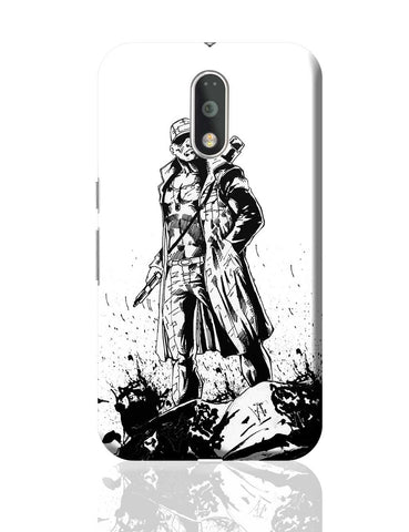Man With Gun Moto G4 Plus Online India