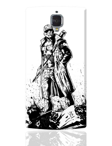 Man With Gun OnePlus 3 Cover Online India