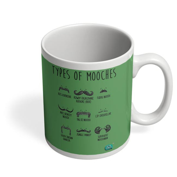 Types Of Mooches Info Graphic Illustration Coffee Mug Online India