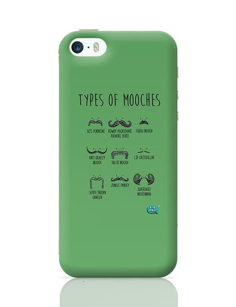 Types Of Mooches Info Graphic Illustration iPhone 5/5S Covers Cases Online India
