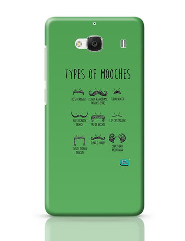 Types Of Mooches Info Graphic Illustration Redmi 2 / Redmi 2 Prime Covers Cases Online India