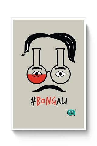 Bongali:- Bengali With A Bong Poster Online India