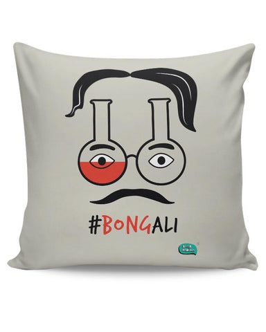 Bongali:- Bengali With A Bong Cushion Cover Online India