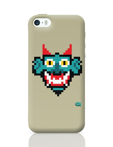Pixelated Raakshasa Minimal iPhone 5/5S Covers Cases Online India