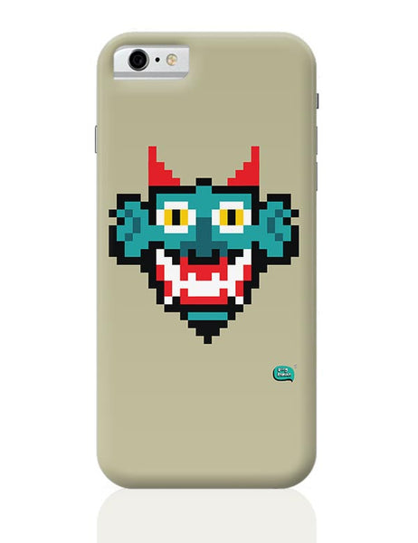 Pixelated Raakshasa Minimal iPhone 6 6S Covers Cases Online India