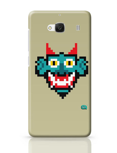 Pixelated Raakshasa Minimal Redmi 2 / Redmi 2 Prime Covers Cases Online India