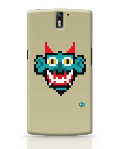 Pixelated Raakshasa Minimal OnePlus One Covers Cases Online India