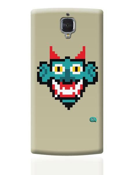 Pixelated Raakshasa Minimal OnePlus 3 Covers Cases Online India