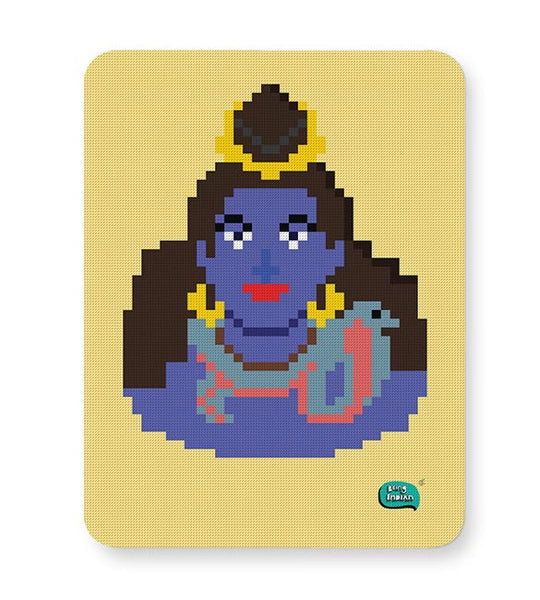 Lord Shiva Pixel Art Illustration Mousepad Online India