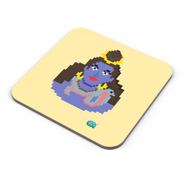 Lord Shiva Pixel Art Illustration Coaster Online India