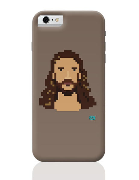 Jesus Christ Pixel Art Illustration iPhone 6 6S Covers Cases Online India