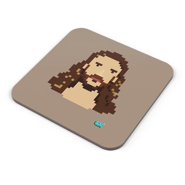 Jesus Christ Pixel Art Illustration Coaster Online India