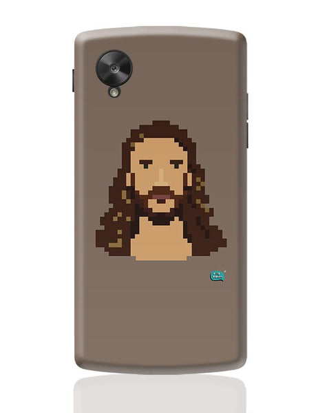 Jesus Christ Pixel Art Illustration Google Nexus 5 Covers Cases Online India