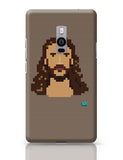 Jesus Christ Pixel Art Illustration OnePlus Two Covers Cases Online India