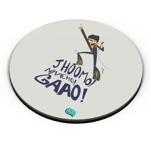 Jhoomo Naacho Gaao | Mithun Da Inspired Quirky  Fridge Magnet Online India