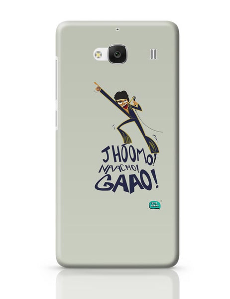Jhoomo Naacho Gaao | Mithun Da Inspired Quirky  Redmi 2 / Redmi 2 Prime Covers Cases Online India