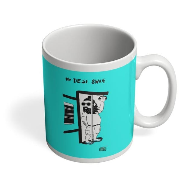 Desi Swag Illustration  Coffee Mug Online India