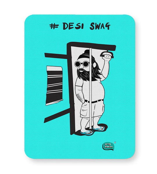 Desi Swag Illustration  Mousepad Online India