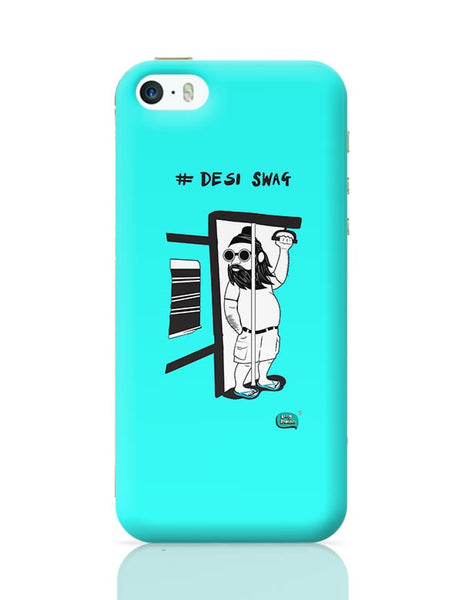 Desi Swag Illustration  iPhone 5/5S Covers Cases Online India