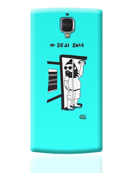 Desi Swag Illustration  OnePlus 3 Covers Cases Online India